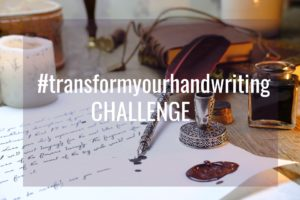 Transform your handwriting challenge