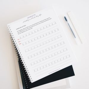 Georgette Worksheets: A bullet journal handwriting style