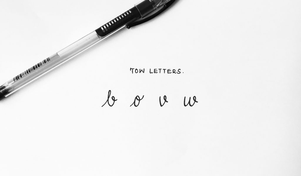 tow letters-min